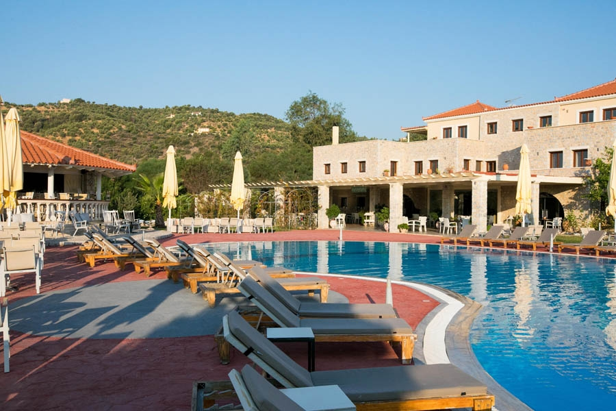 The Pool, Aktaion Resort: Gythio hotels rooms Gytheion Lakonia Greece
