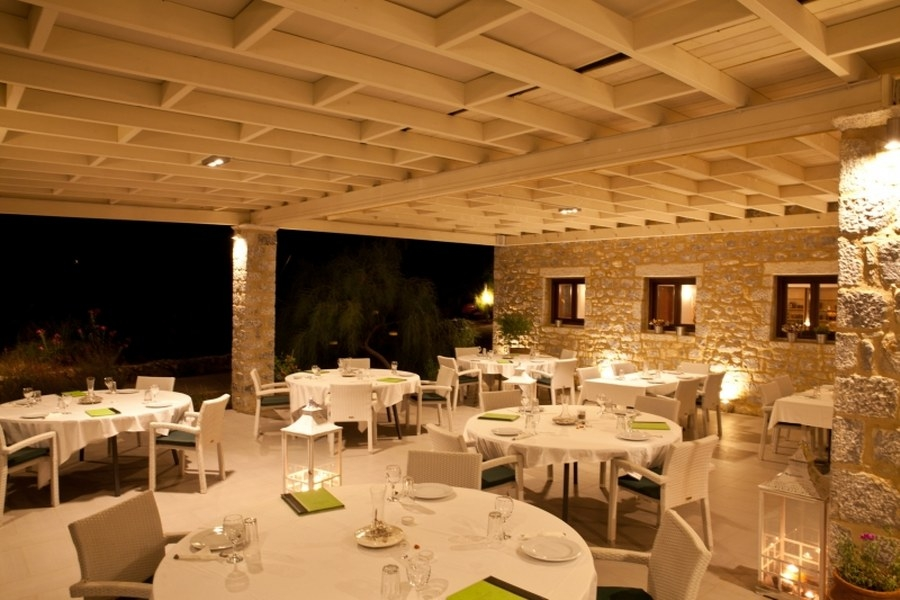 Restaurant, Aktaion Resort: Gythio hotels rooms Gytheion Lakonia Greece